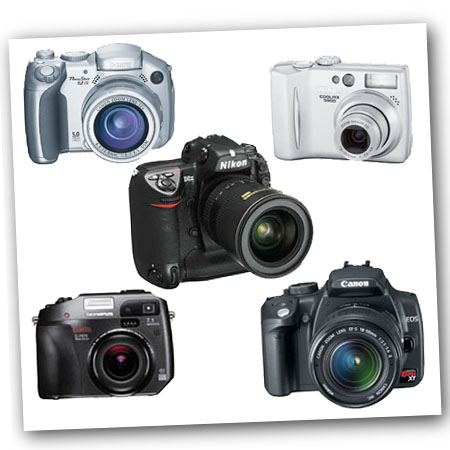 a look at the three basic types of digital cameras Every digital camera has at its in this article we explain the different sensor types and compacts that once had two or three megapixels were soon.