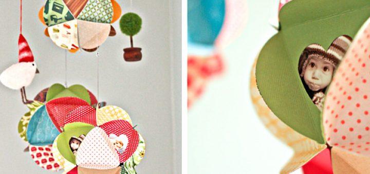 Рамка для фотографий в форме шара