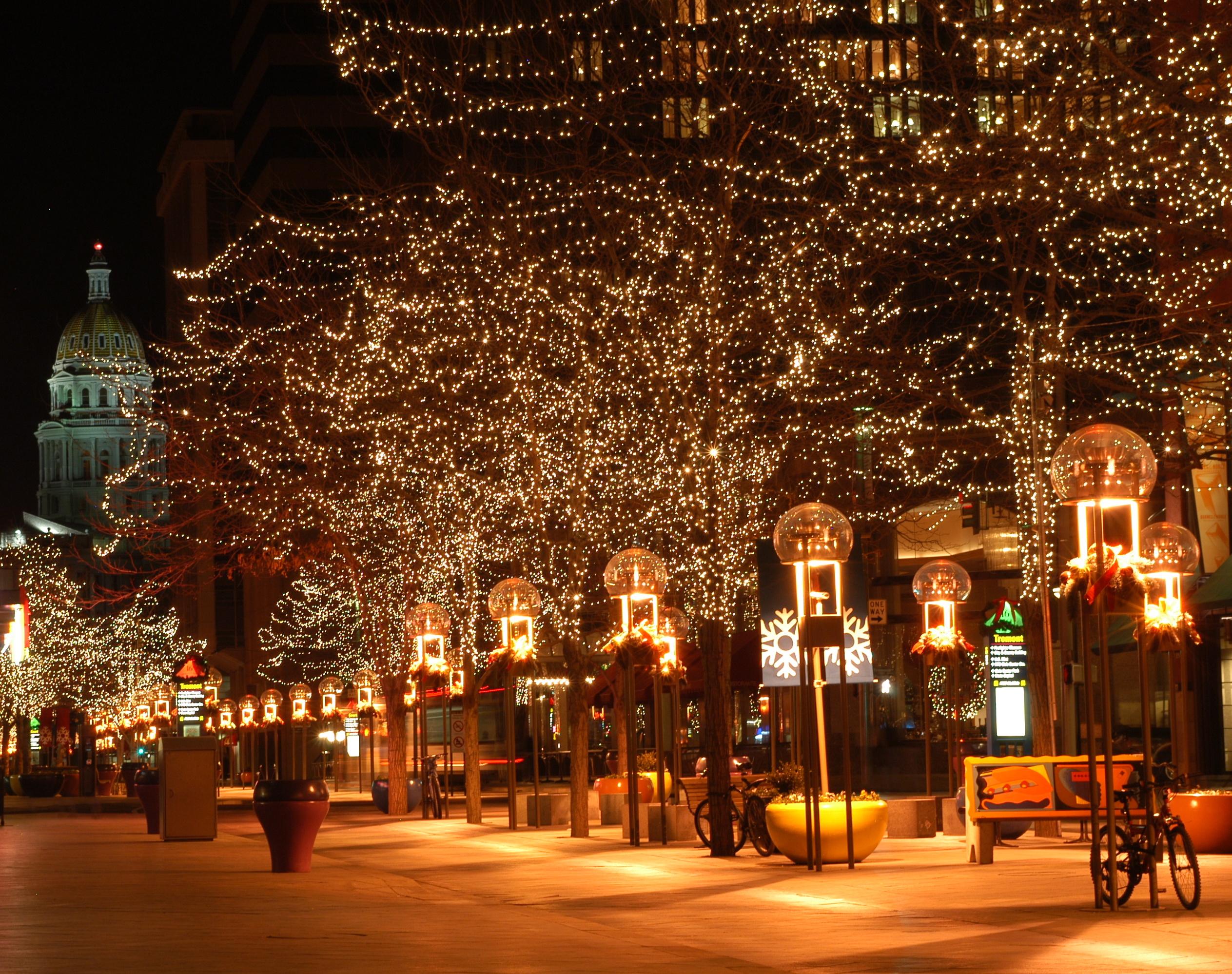 рождественский город картинки изучение