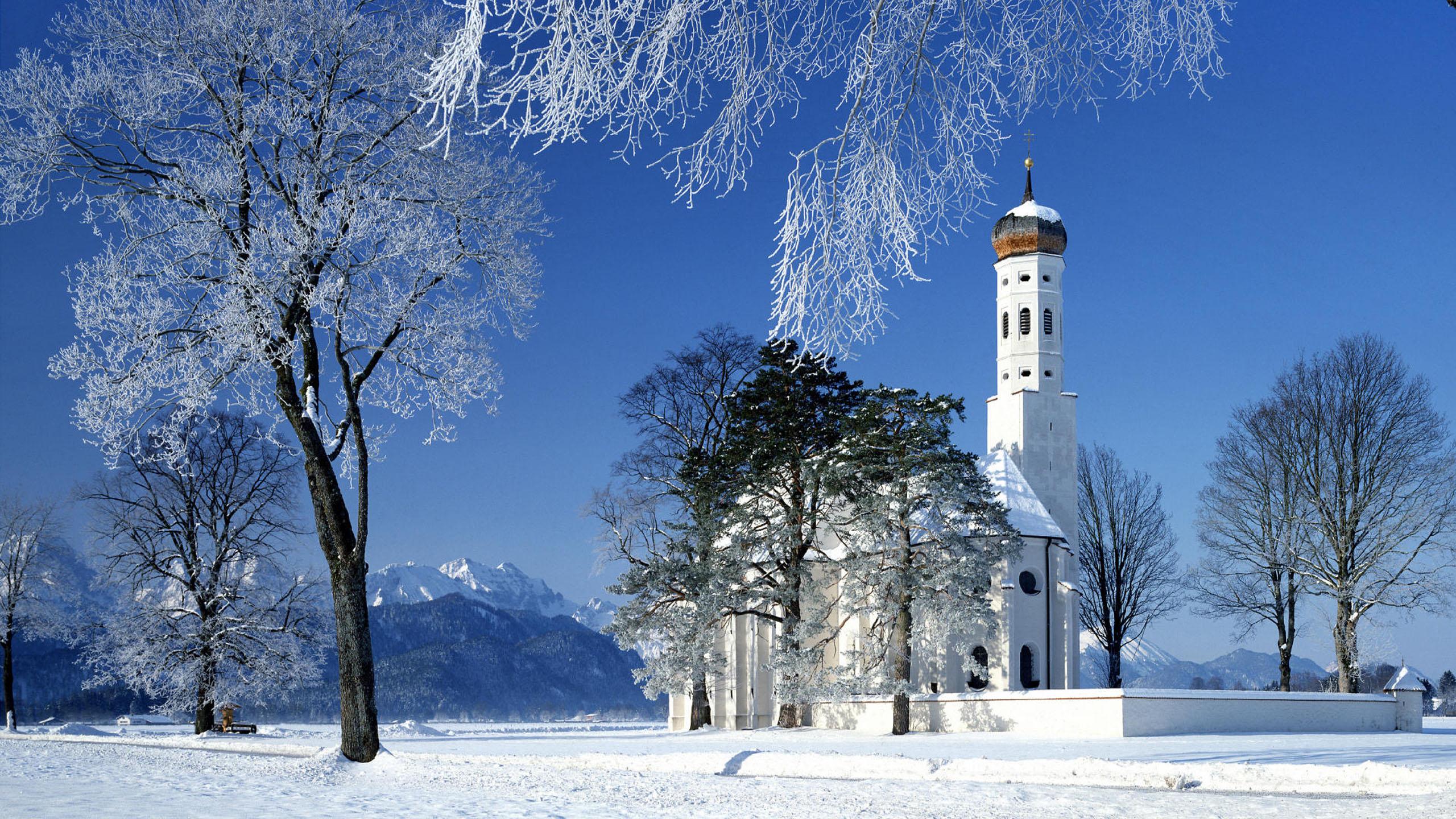 зимние пейзажи фотографии на рабочий стол использовать